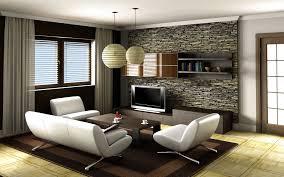 Living Room Wallpaper Ideas Fair 40 Stone Tile Living Room Design Decorating Inspiration Of