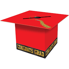 graduation card box beistle graduate cap card box 8 1 2 inch by 8 1 2 inch