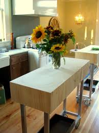 Small Kitchen Islands On Wheels by Kitchen Island On Casters Best Remodel Home Ideas Interior And