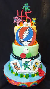 grateful dead grooms cake idea i think this could be it should