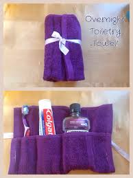 my toiletry towel i made using my sewing machine a great project