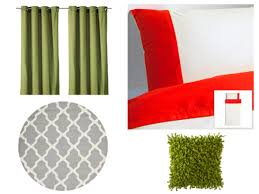 design by color using olive green in your room decor college