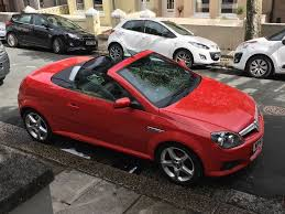 vauxhall convertible vauxhall tigra convertible red low mileage great condition only 2