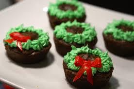 christmas brownie wreaths we u0027re calling shenanigans
