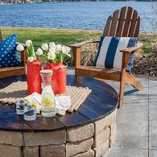 Table Firepit Turn Your Pit Into A Table With This Diy Project Via The