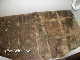concrete floor paper bags polyurethane rit dye another