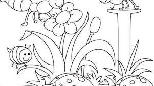 26 cool spring coloring pages printable gekimoe u2022 23705