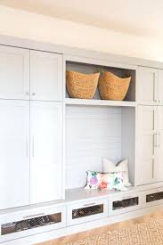 mudroom plans mudroom storage cabinet plans lockers with walnut benchtop