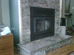 fireplace slate tile room design plan interior amazing ideas on