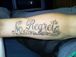 no regrets u0027 pensive premises