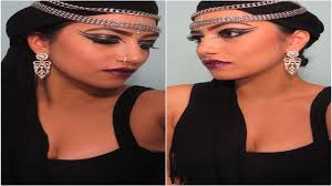 halloween make up indian arab gypsy princess youtube