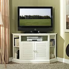 white corner television cabinet walker edison wood highboy 55 inch corner tv cabinet gloss white