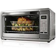 Can You Put Aluminum Foil In Toaster Oven Amazon Com Oster Large Capacity Countertop 6 Slice Digital