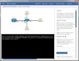 using pearson u0027s cisco network simulator pearson it certification