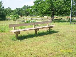 Field Bench Get Involved Camp Loughridge