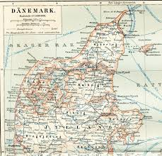 Baltic Sea Map Denmark Old Map Bornholm Historical Map Kattegat Map Ferry