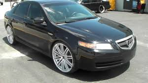 www dubsandtires com acura tl 2006 22 inch ruff racing r955 r 955