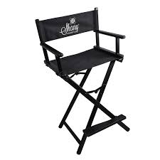 makeup stool for makeup artists shany studio director chair makeup artists chair black