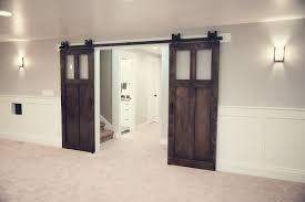 Interior French Doors Frosted Glass by Sliding Barn Door Ideas 25 Best Diy Sliding Door Ideas On
