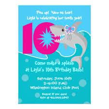 10th birthday invitations u0026 announcements zazzle