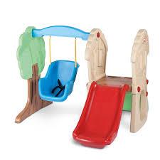 swing set for babies hide seek climber swing at little tikes