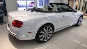 2017 white bentley convertible 2017 bentley continental gt v8 convertible for sale near longwood