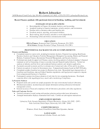 Investment Banking Resume Template Investment Analyst Resume Sop Proposal