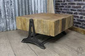 Industrial Style Coffee Table Industrial Style Coffee Table Reclaimed Pine
