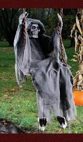 swinging reaper sure to startle your guests halloween yard