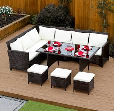 light colored coffee table sets brown 9 seat rattan corner dining set from abreo abreo home furniture
