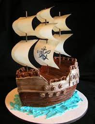 pirate ship cake ahoy pirate ship cake