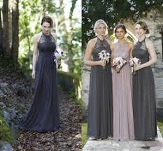 blue gray bridesmaid dresses halter grey bridesmaid dress halter grey bridesmaid dress