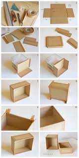 Diy Wooden Toy Box With Lid by Best 25 Cardboard Box Storage Ideas On Pinterest Decorative