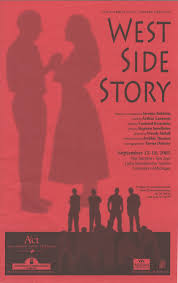 ann arbor civic theatre program west side story september 15