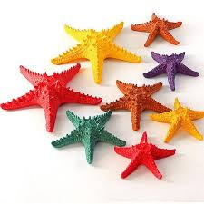 2017 starfish ornaments colorful hanging modern decor home