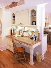 Small Kitchen Desk Small Corner Kitchen Desk Ideas Photos Houzz
