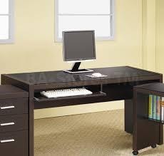 Desks Online Sale 263 00 Papineau Dark Brown Computer Desk Coaster Co