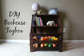 Build A Simple Toy Chest by Turtles And Tails Bookshelf Toybox Combo Diy