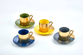 amazon com classic coffee u0026 tea solid espresso cups u0026 saucers