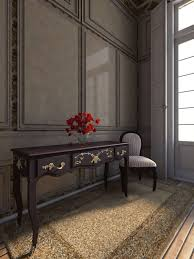 3d neoclassical apartment interior cgtrader
