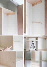 build this terrific small closet organizer