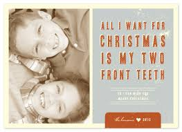 photo cards two front teeth at minted