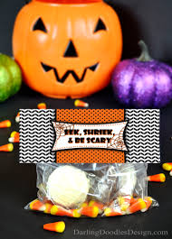 free printable halloween treat bag labels halloween archives darling doodles