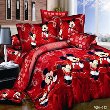 Mickey And Minnie Bed Set by Interesting Mickey Mouse Bed Sheets King Size 44 With Additional