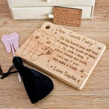 tooth fairy gift children s tooth fairy kit fairy wand gift set the laser boutique