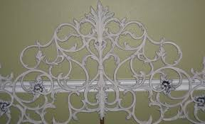 Wrought Iron Headboard Full by Fascinating Bedroom For White Wrought Iron Headboard King 6 Ic