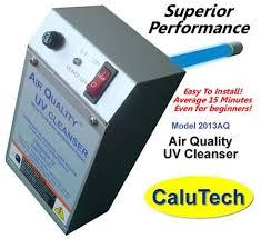 hvac uv light kit ultraviolet germicidal air purifier uv air cleanser home air