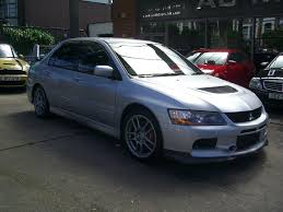 used mitsubishi lancer for sale used 2007 mitsubishi lancer ix evo9 for sale in london ac motor