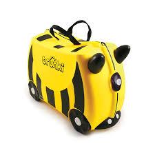 amazon com trunki the original ride on suitcase new bernard