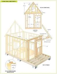 free house projects free wood cabin plans step by step guide to building a tiny house
